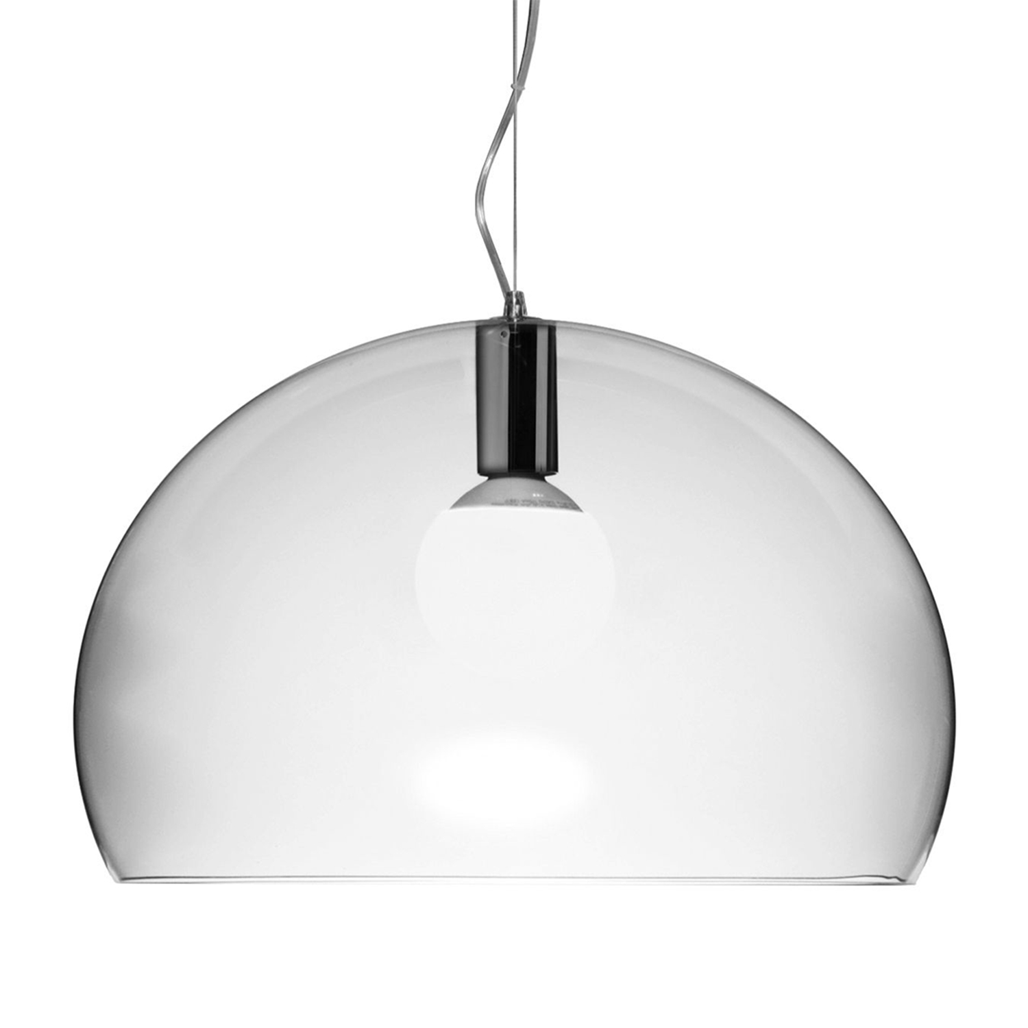 FL/Y taklampe, transparent