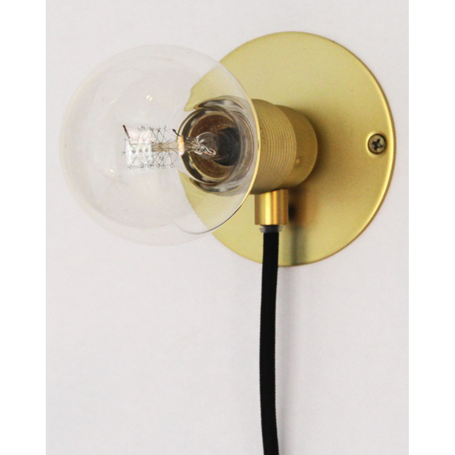 Wall Frama lampe S, messing