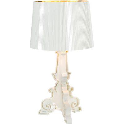 Bourgie bordlampe hvit