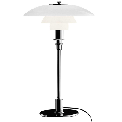 PH 3/2 bordlampe, krom i gruppen Belysning / Lamper / Bordlamper hos ROOM21.no (101021)