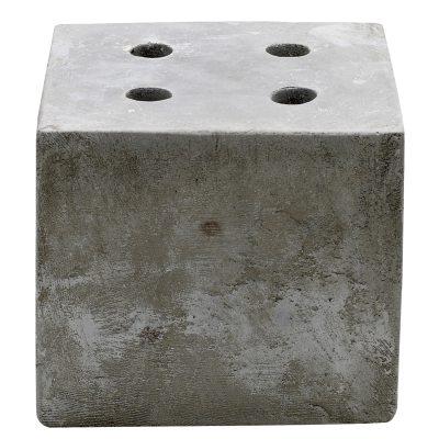 Bilde av Concrete adventlysestake, firkantet