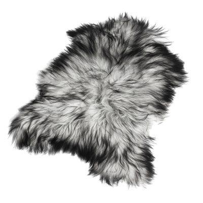 Longhair saueskinn 70x110, naturlig grå