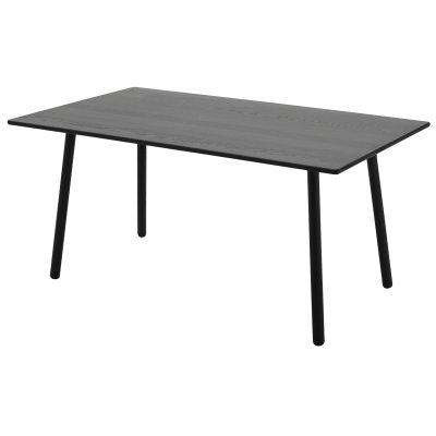 Georg spisebord, svart – skagerak – kjøp møbler online pÃ¥ room21.no