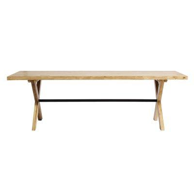 Cross spisebord, 200 cm