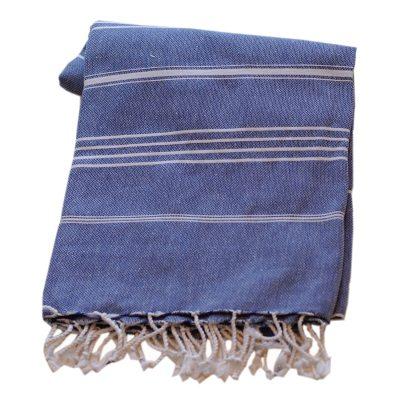 Basic hamamhåndkle 180x90, blå