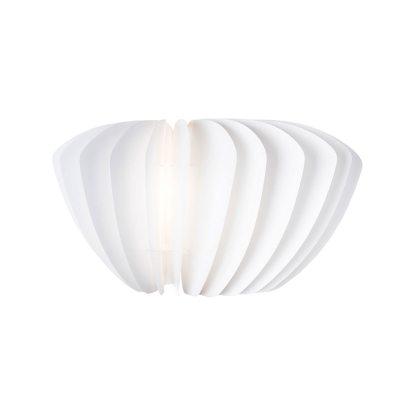 Facetta lampeskjerm 52 cm, hvit