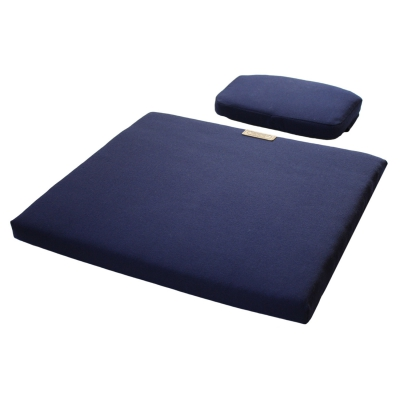 Sittepute + Nakkepute A3, blå