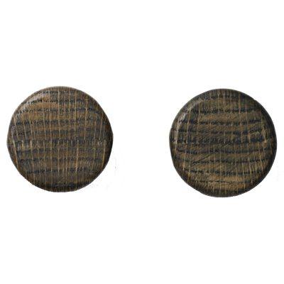 Bilde av Knobs veggkrok 2-pack, dark ash