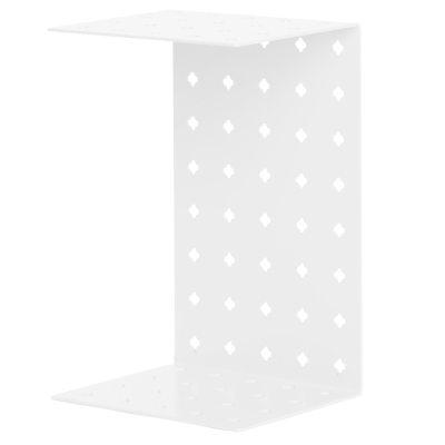 Perforert plate nattbord, hvit – stÃ¥lverket – kjøp møbler online ...