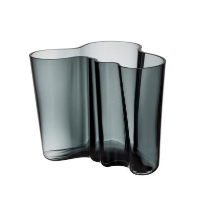Bilde av Aalto vase 16 cm, mørkegrå