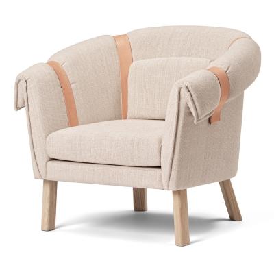 Bilde av Ram lænestol, lysegrå