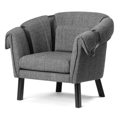 Bilde av Ram lænestol, mørkegrå