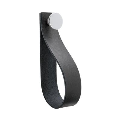Bilde av Loop Strap håndtak L, svart/krom