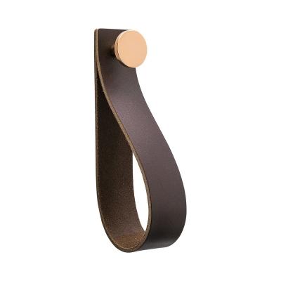Bilde av Loop Strap håndtak L, brun/kobber
