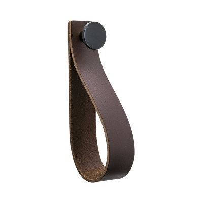 Bilde av Loop Strap håndtak L, brun/svart