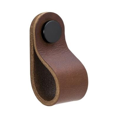 Bilde av Loop Round håndtak S, brun/svart