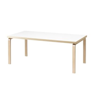 Bilde av 83 bord, hvit laminat