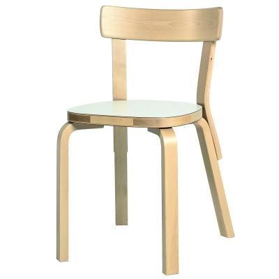 Bilde av 69 stol, hvit laminat