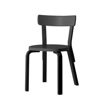 Bilde av 69 stol, svartlakkert