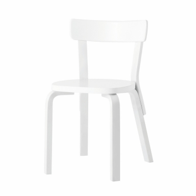 Bilde av 69 stol, hvitlakkert