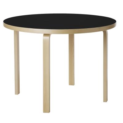 Bilde av 90A bord, svart linoleum