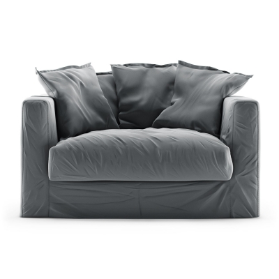 Bilde av Le Grand Air Loveseat fløyel, Granite