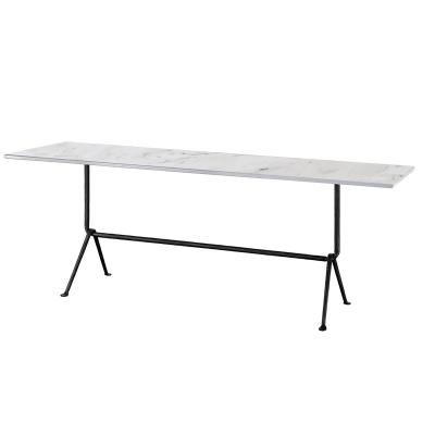 Bilde av Officina fratino table 160x65, hvit carraramarmor