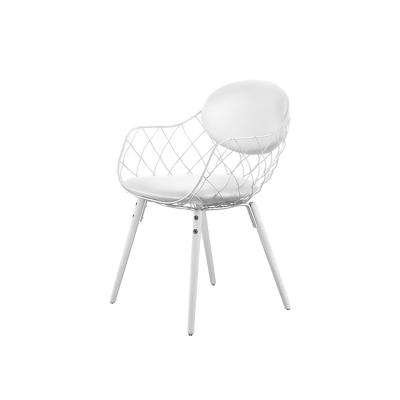 Bilde av Piña chair small cushion, white/white/white