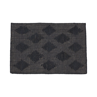 Bilde av Cubie gulvteppe 70x50, svart