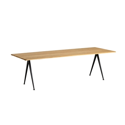 Bilde av Pyramid table 02 250x85, black frame/clear