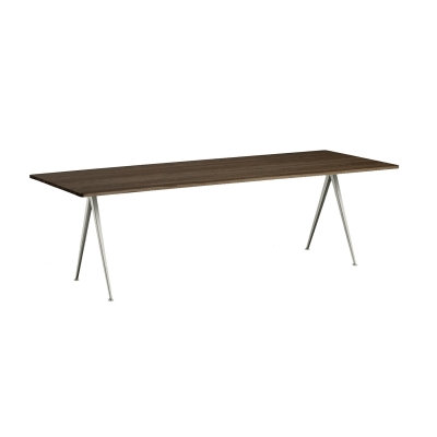 Bilde av Pyramid table 02 250x85, beige frame/smoked