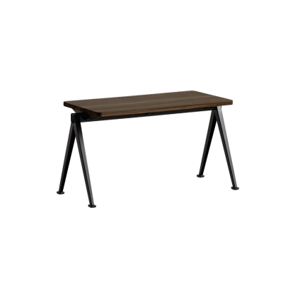 Bilde av Pyramid bench 11 85x40, black frame/smoked