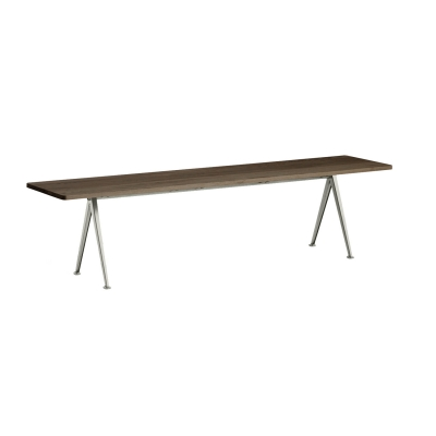 Bilde av Pyramid bench 12 190x40, beige frame/smoked