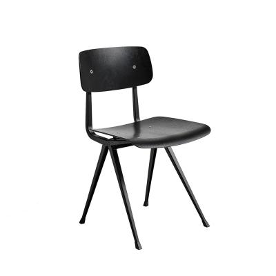 Bilde av Result chair, black/oak black seat