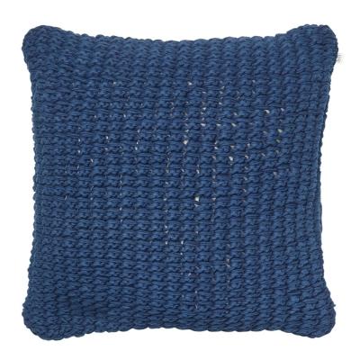 Bilde av Knitted Hema putetrekk M, blå