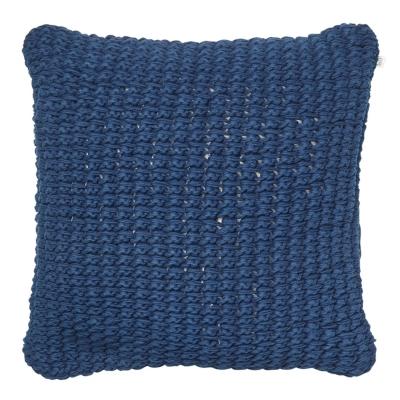 Bilde av Knitted Hema putetrekk L, blå