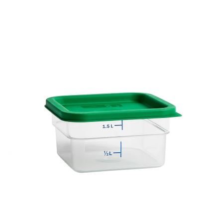 Bilde av Coloured lid oppbevaringsboks M, grønn