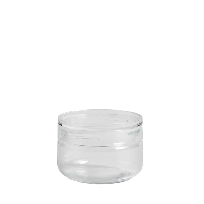 Bilde av Japanese glass jar boks S, clear