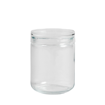 Bilde av Japanese glass jar boks L, clear