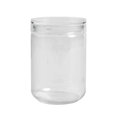 Bilde av Japanese glass jar boks XL, clear