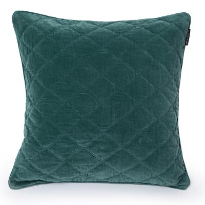 Bilde av Velvet putetrekk 65x65, grønn