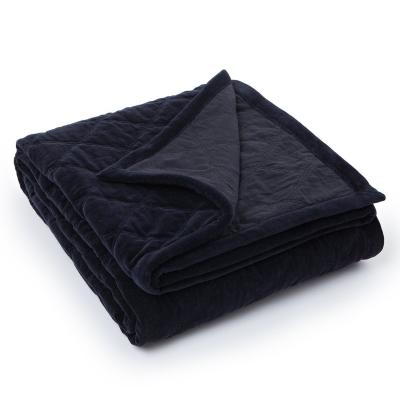 Bilde av Quilt Velvet sengeteppe 160x240, svart