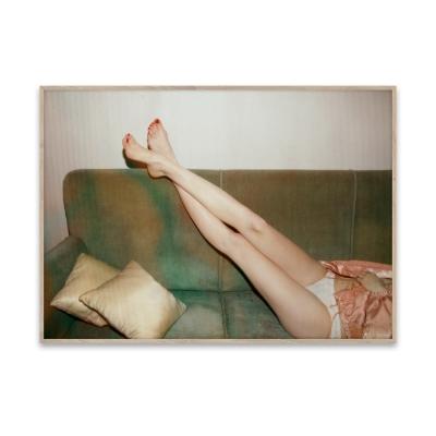 Bilde av Resting Feet plakat 50 x 70
