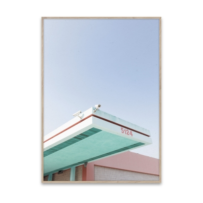 Bilde av Los Angeles is Pink plakat 40 x 30