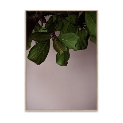 Bilde av Green Leaves plakat 40 x 30