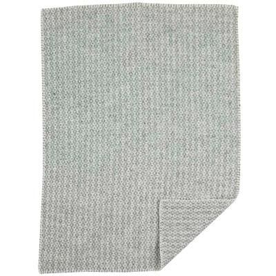 Bilde av Rumba Baby ullpledd 65x90, lys grå