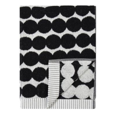 Bilde av Räsymatto håndkle 50x100, hvit/svart