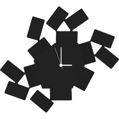 Bilde av La Stanza veggklokke, svart