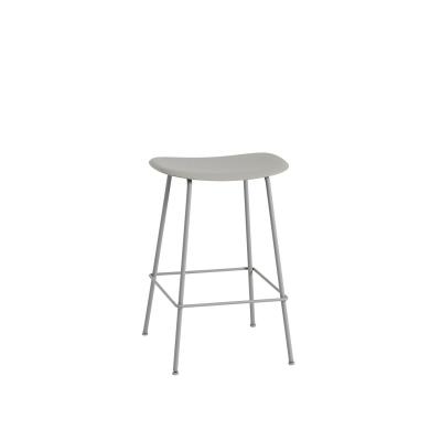 Bilde av Fiber Tube bar stool, grå