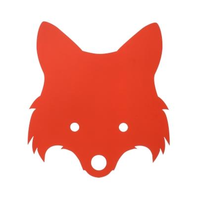 Bilde av Fox lampe, rød/oransje